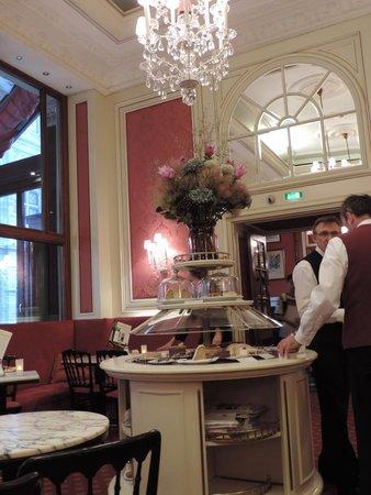 Café Sacher Wien: Interior do Café