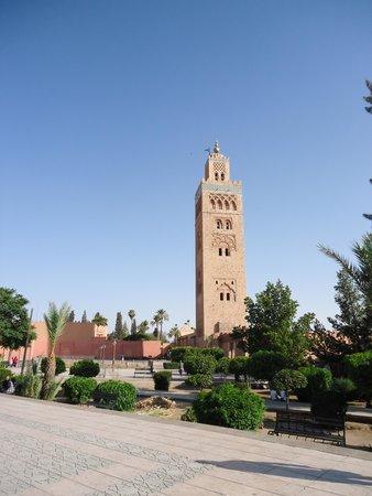 Koutoubia Mosque and Minaret: Lindo