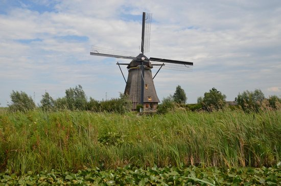Mühlenanlagen in Kinderdijk-Elshout: Windmill