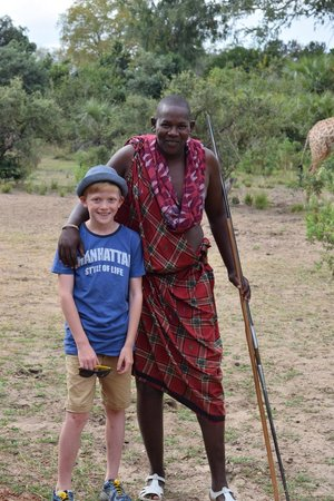 Selous Impala Camp: Our lovely Masai Barack