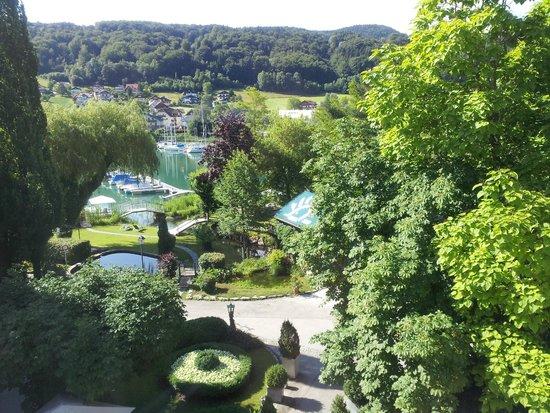 Schlosshotel Iglhauser: Uitzicht vanuit de kamer