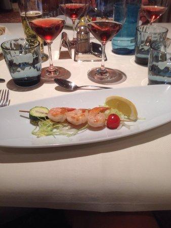Hotel Armin: Nydelige matretter.