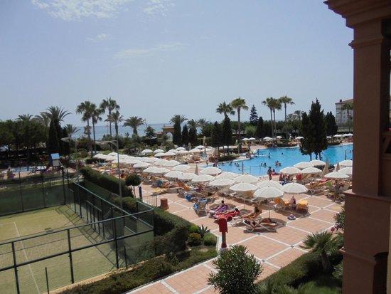 Iberostar Malaga Playa: VISTA DESDE UNA HABITACION JUNIOR SUITE
