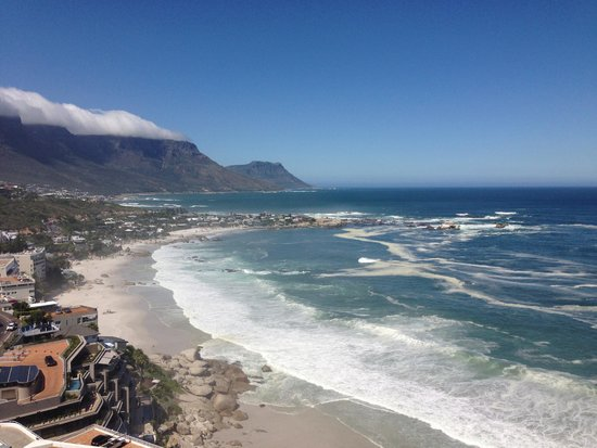 Cape View Clifton: View from our balcony