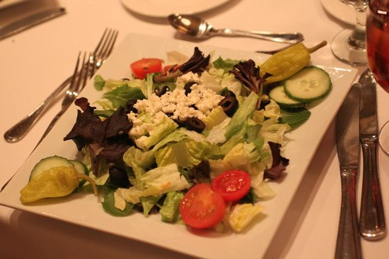 The Westin Poinsett, Greenville: Excellent menu selections and prepared to perfection.