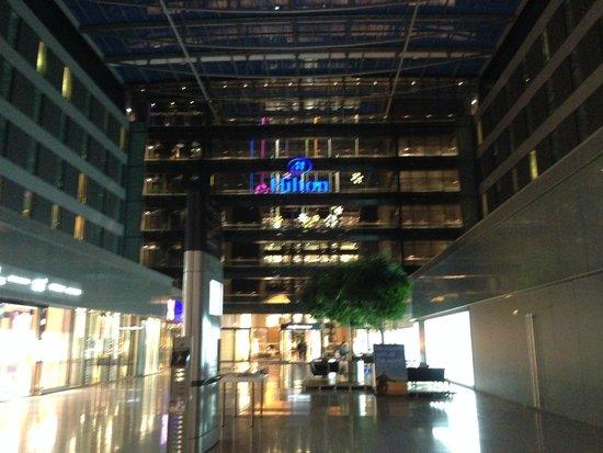 Hilton Garden Inn Frankfurt Airport: Fachada