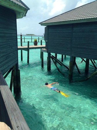 Komandoo Maldives Island Resort : View from our Jacuzzi Water Villa