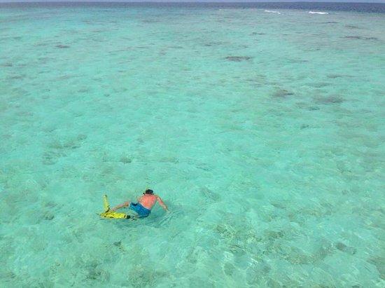 Komandoo Maldives Island Resort : Ocean view from our Jacuzzi Water Villa