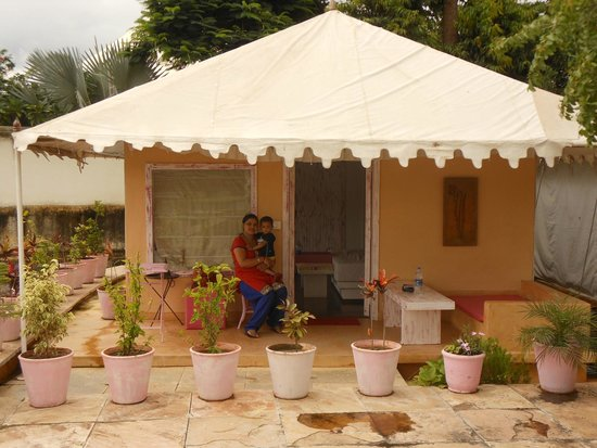 Raas Leela Luxury Camps: The best hut that i chose