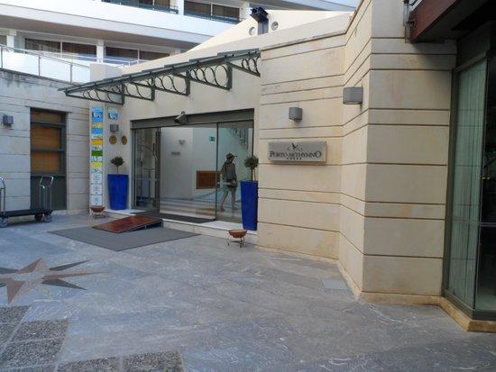 Aquila Porto Rethymno: Entrance