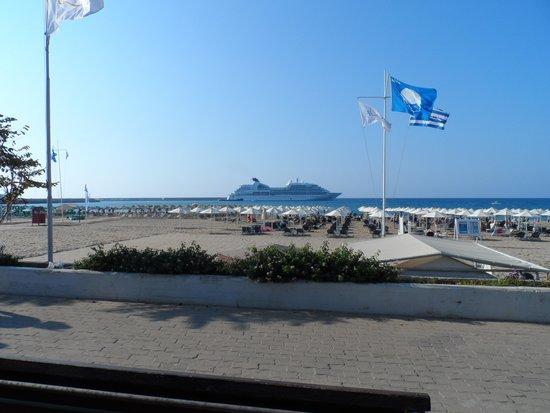 Aquila Porto Rethymno: Beach