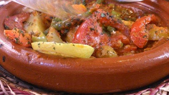 Kui-Zin : tagine de legumes/ vegetable tagine