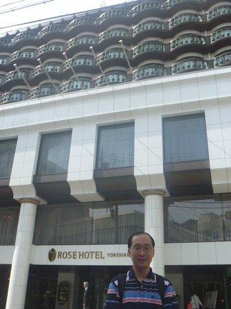 Yokohama Chinatown: At Rose Hotel in Yokohama
