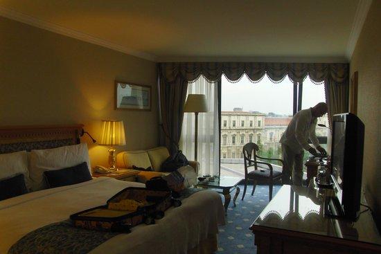 InterContinental Istanbul : nosso quarto