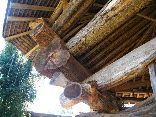 La Aripuca : Detalhe da estrutura.