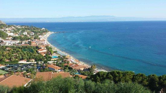 Hotel Residence Sciaron: Panorama dallo Sciaron