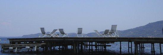 MarBella Corfu Hotel : Hotel jetty