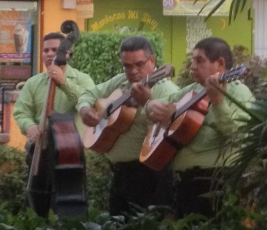 Maria Corona Restaurant: Amazing guitarists