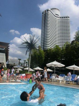 Hotel New Otani Tokyo The Main: 子供用プールもあります