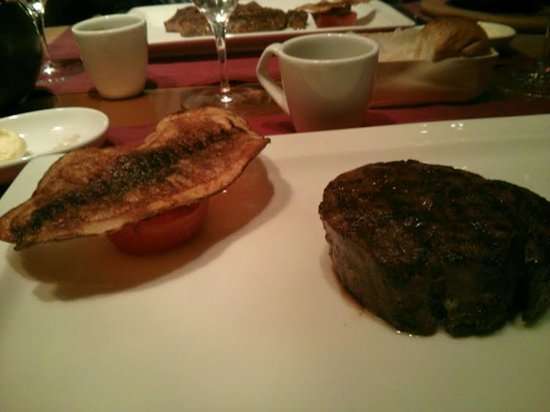 Lexington Grill at Waldorf Astoria Ras Al Khaimah: Wagyu Tenderloin (Medium Well)