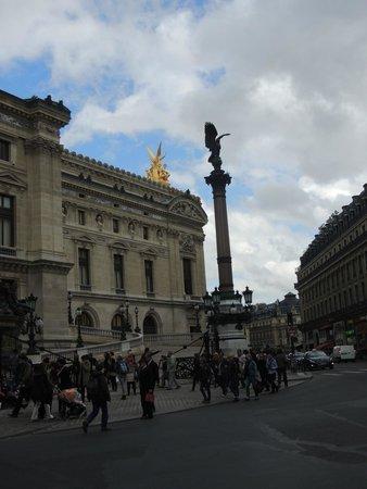 Opéra Garnier : Vista Lateral