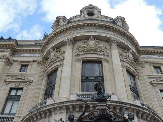 Opéra Garnier : Detalhes arquitetonicos