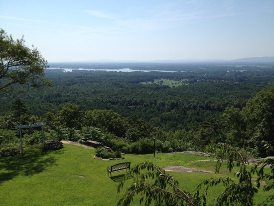 The Secret Bed and Breakfast Lodge : view from the room