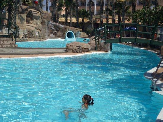 Playasol Spa Hotel: toboganes