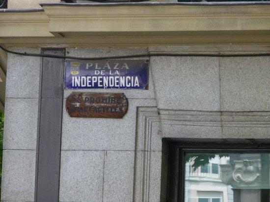 Puerta de Alcalá: Puerta de Alcala