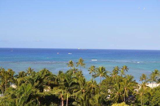 Hale Koa Hotel: view from room balcony