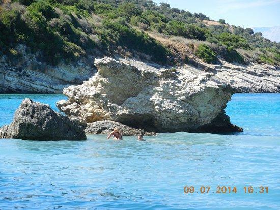 Xygia Sulphur Beach : Ксигия