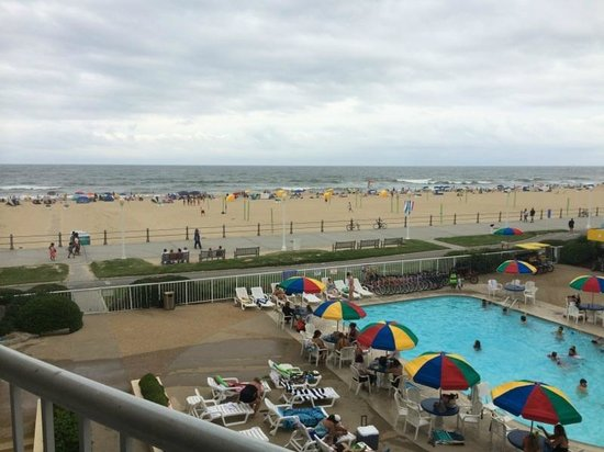 Quality Inn & Suites Oceanfront: Great View!!!