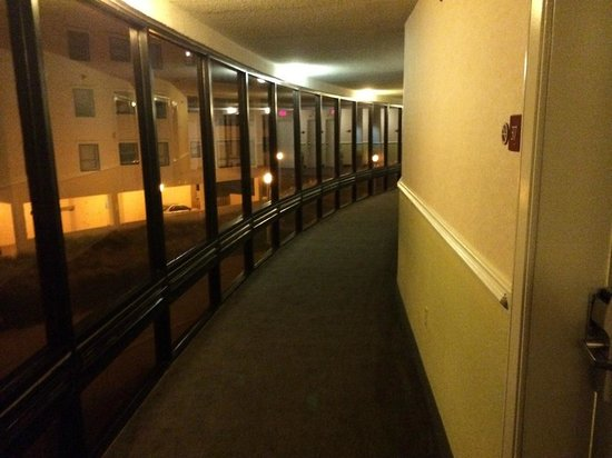 Quality Inn & Suites Oceanfront: Hallway View