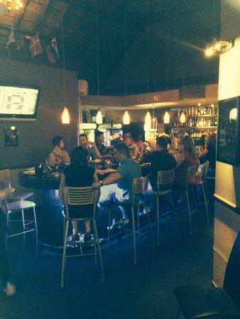 Franco's Little Italy : Sushi bar