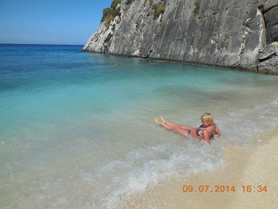 Xygia Sulphur Beach : Пляж Ксигия