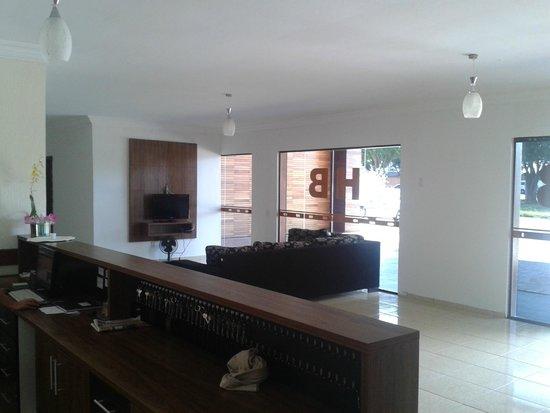 Bandeira Iguassu Hotel: Recepção - Lobby