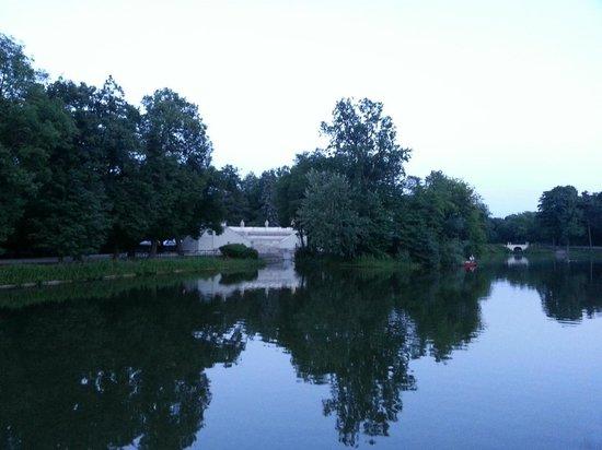 Parc Łazienki : Il parco