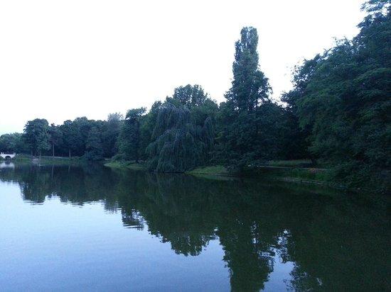 Łazienki-Park (Park der Bäder): Il parco