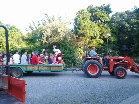 Cedar Creek Campground: Christmas in July (Santa Hayride)