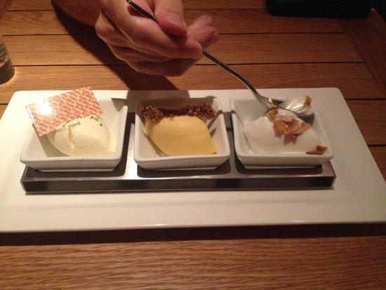 Morimoto : Delicious dessert.