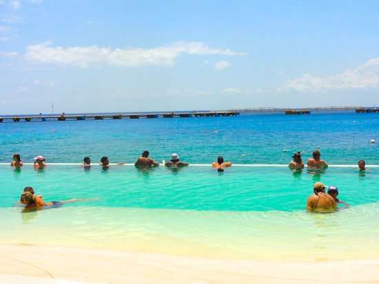 Grand Park Royal Cozumel: Infinity pool