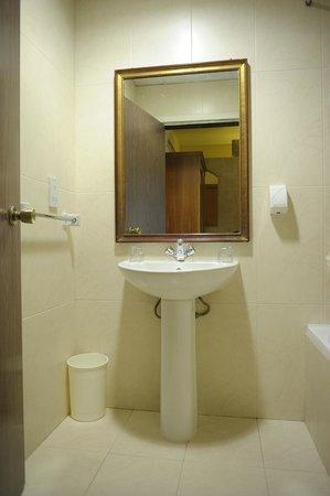 Oriana at the Topaz Hotel: Standard bathroom