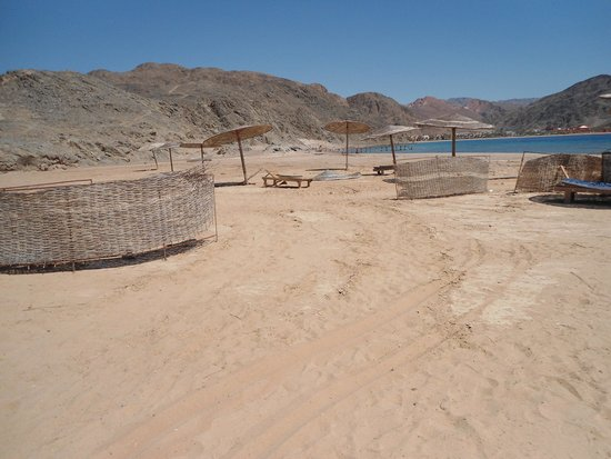 Miramar Resort Taba Heights: Пляж