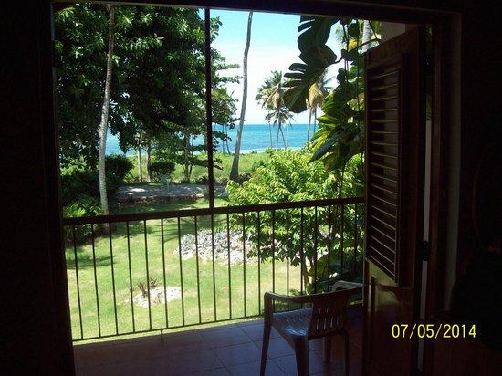 Hotel el Marinique : View from Apartment's loft bedroom