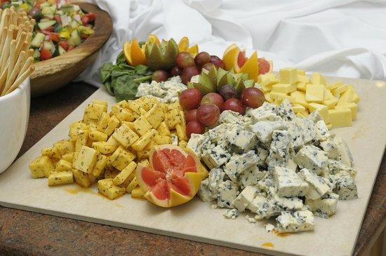 Oriana at the Topaz Hotel: Cheeses