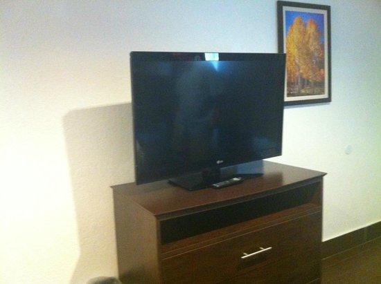 Jaybird's Inn: Flat screen television