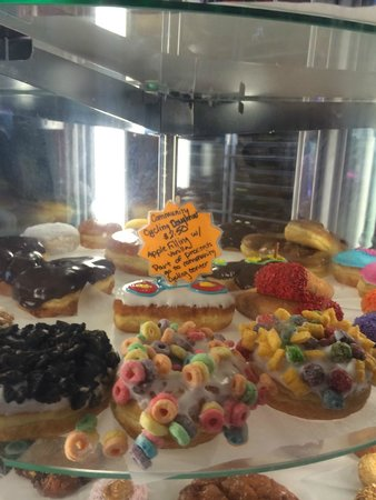 Voodoo Doughnut selection.