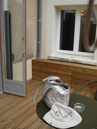 Hotel Le Belvedere : terrasse