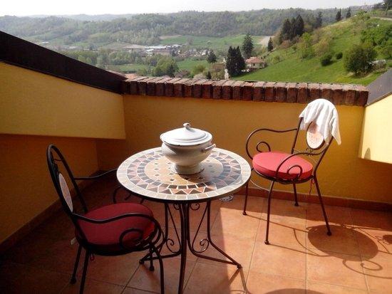 Il Ghiro: Vista desde la terraza
