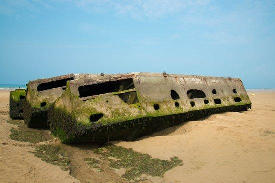 Musee du debarquement : la flotteurs de rechange